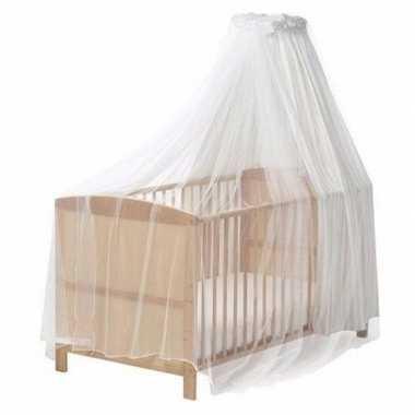 Babykamer anti muggen klamboe wit