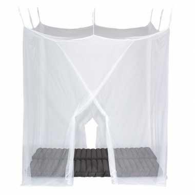 Vierkant muskietennet voor 2 personen